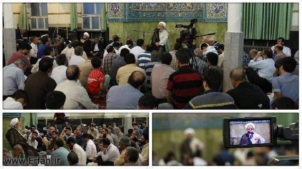 Professor Ansarian: Blessedness and prosperity will not be realized without faith and piety