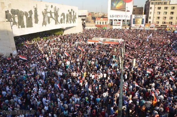 Sadr supporters gather in Baghdad as cleric urges integration of PMU into Iraqi Army