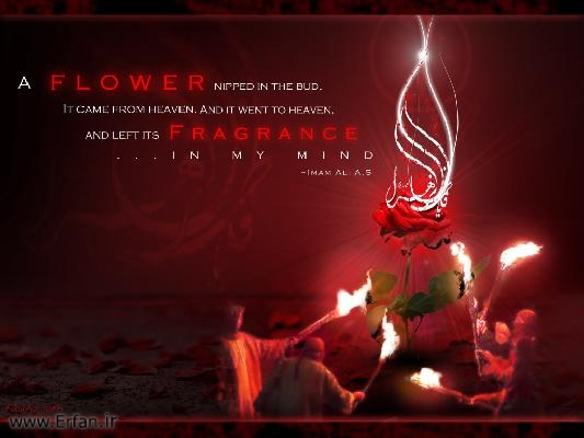 How did the holy prophet (PBUH &P) treat Hazrat Fatima Zahra (peace be upon her)