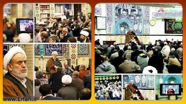 Photos/ Professor Ansarian's lecturing ceremony in Rasoul-e-Akram (PBUH & HP) mosque and the great mosque of Ghadir.