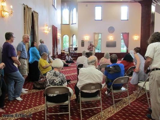 Illinois residents visit Islamic Center to know about Islam