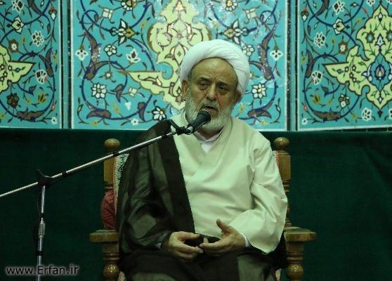 Photos/ lecture by professor Ansarian at the Mahdieh of Abbas Abad in Hamedan